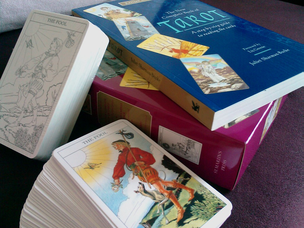 """""""My Tarot Decks"""" by imeleven is licensed under CC BY-NC-ND 2.0"""