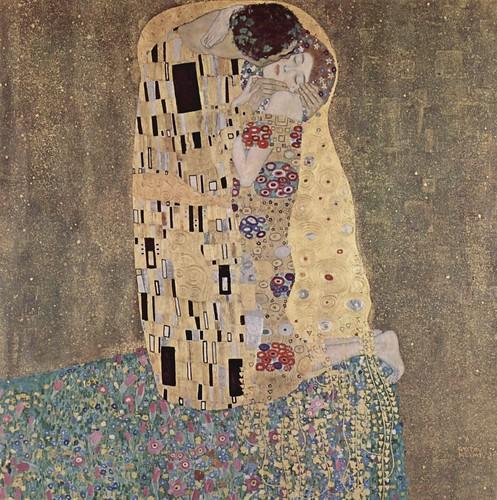 "Gustav Klimt's ""The Kiss."" Image Credit: Flickr/Arria Marcella"