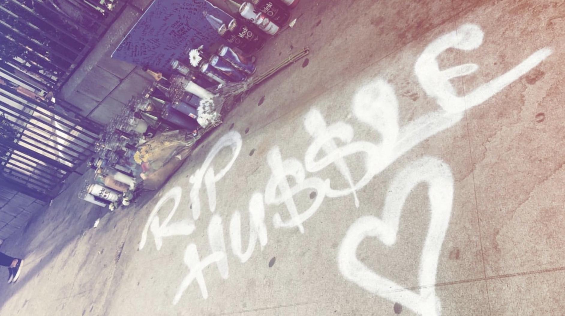 Nipsey Hussle Street Art