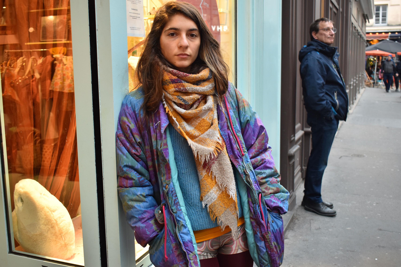 Women's fashion in the Marais