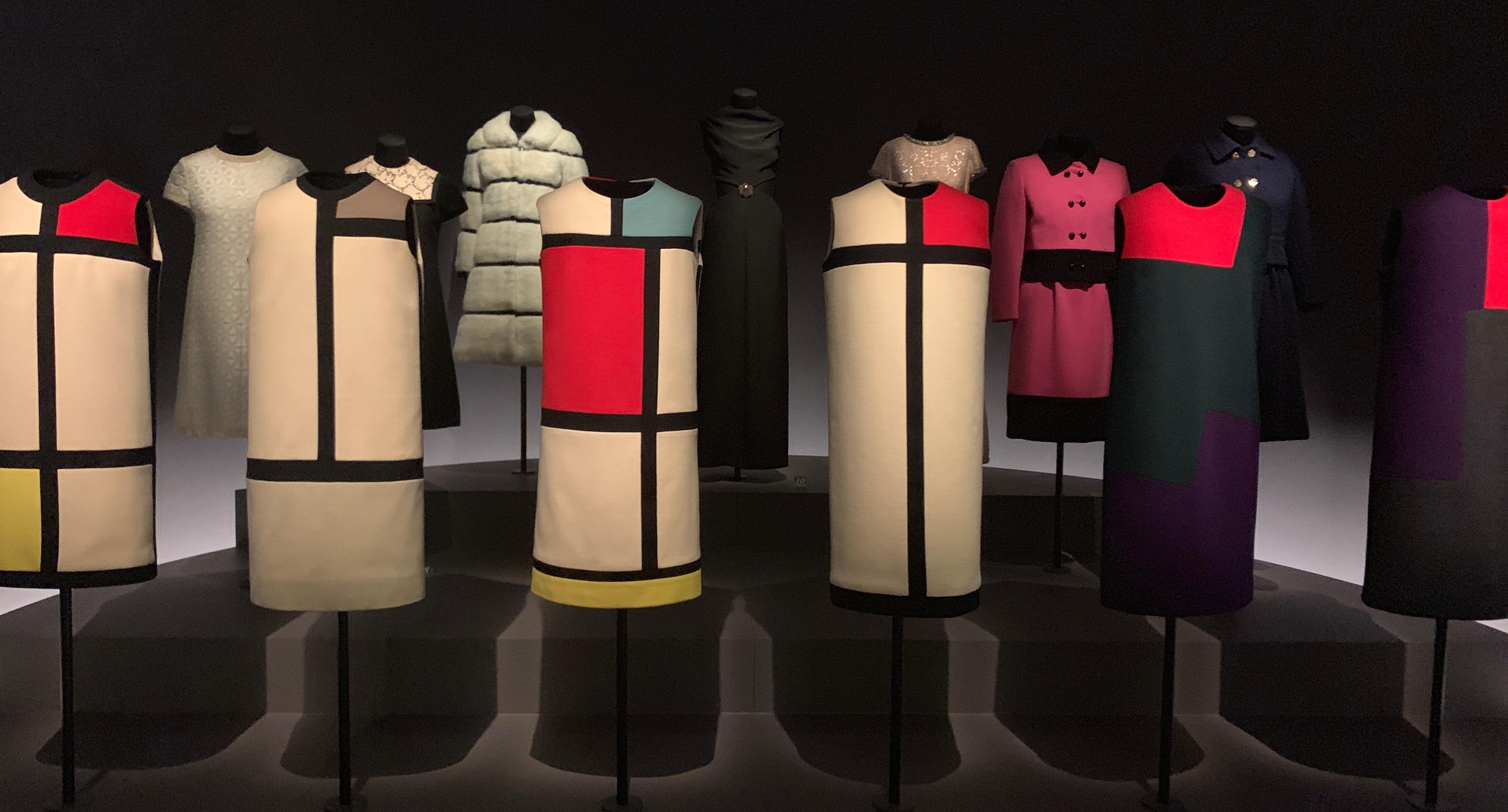 Yves Saint Laurent Mondrian Collection 1965. Image Credit/Liza Cameron