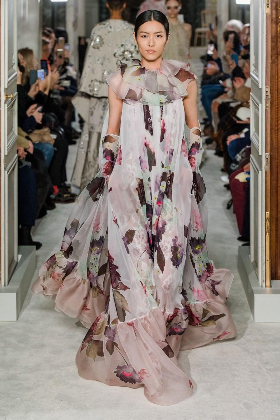 Valentino 2019 Paris Haute Couture. Filippo Fior/Gorunway.com