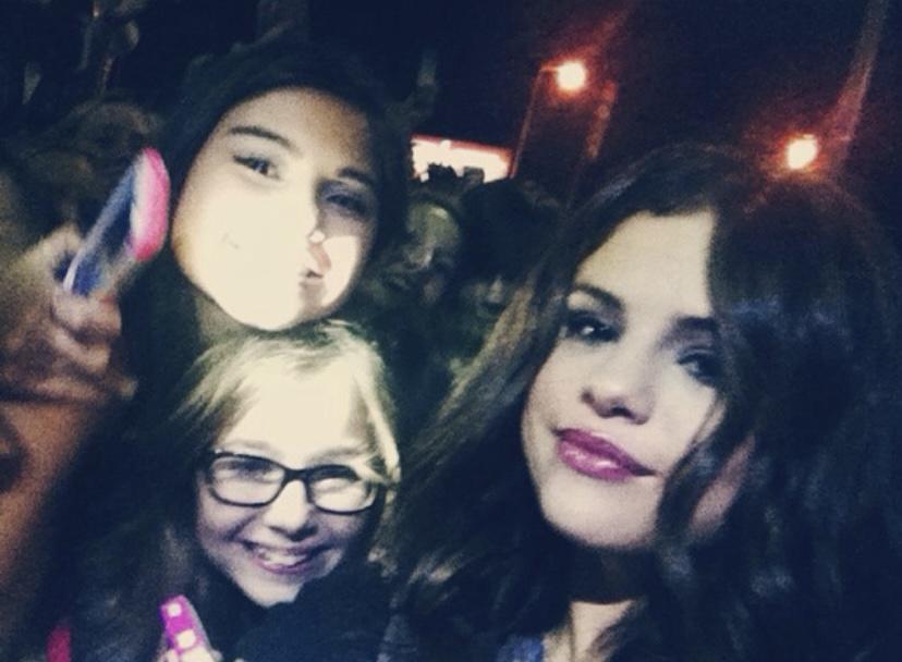 The day I met Selena Gomez