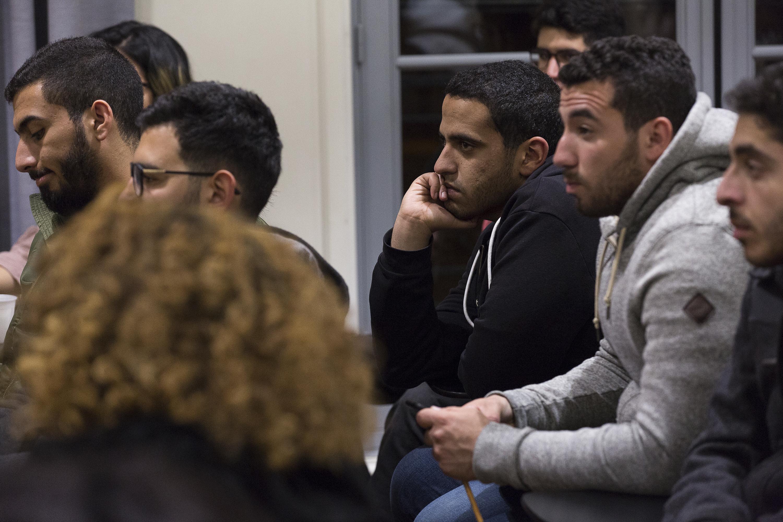 Libya discussion AUC students