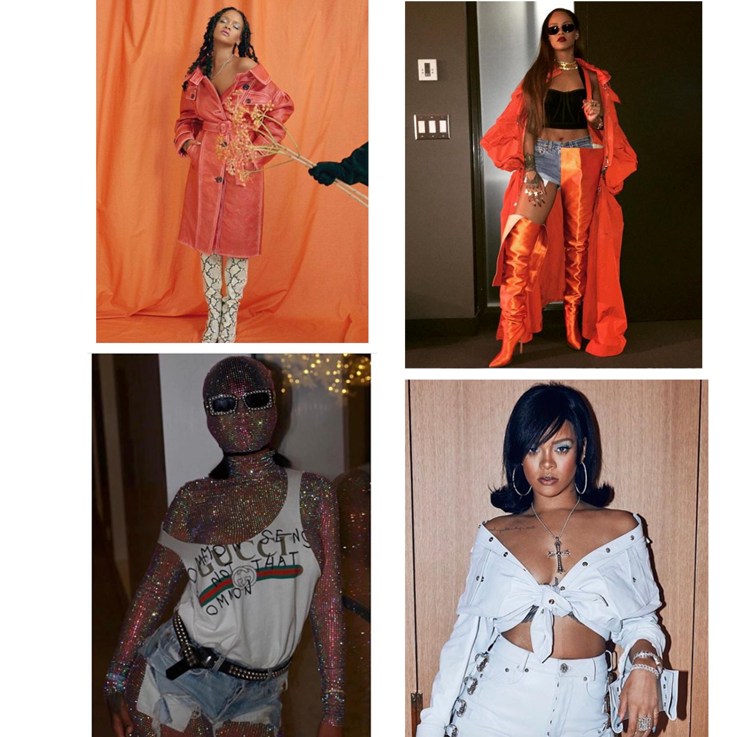 Rihanna Styled by Jahleel Weaver