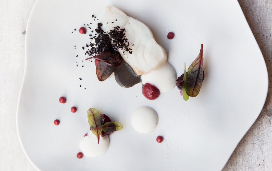 Cod and Beetroot