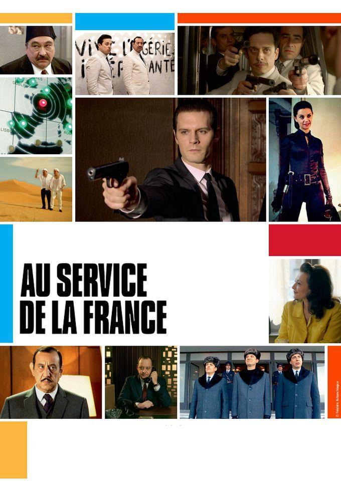 Au Service à la France Poster