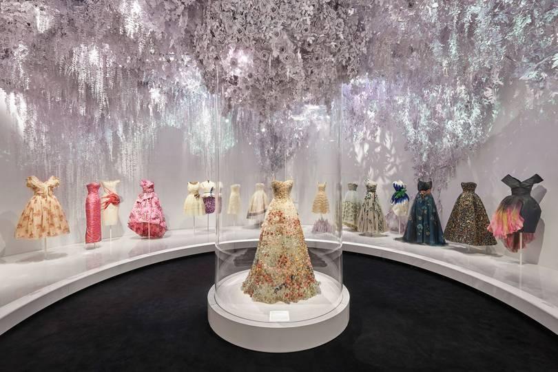 Dior Exhibition, Victoria and Albert Museum, London. Image Credit:  Adrien Dirand