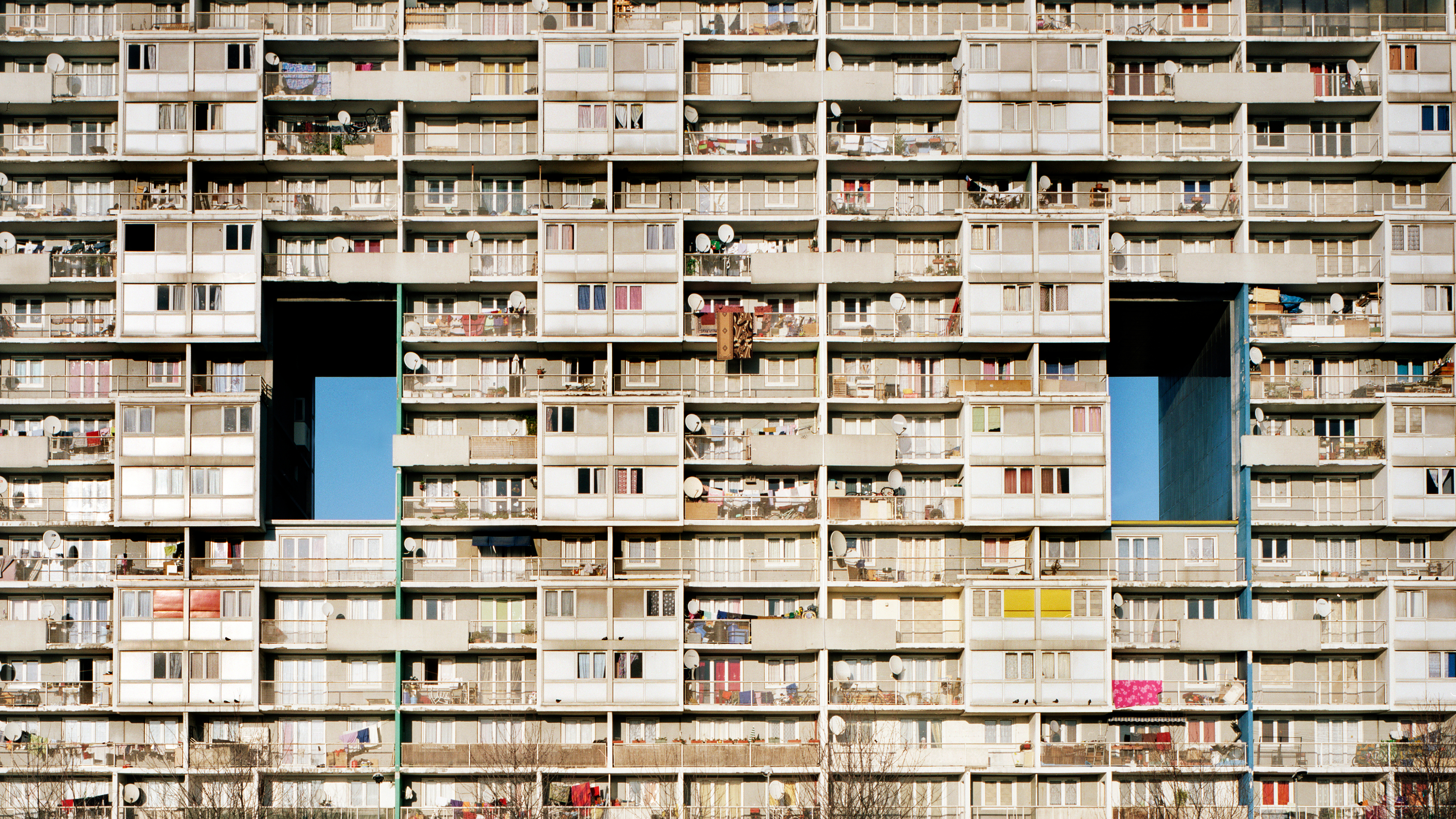 A residence building in the northern suburbs of Paris. Image Credit: Shutterstock/Alex Calvi