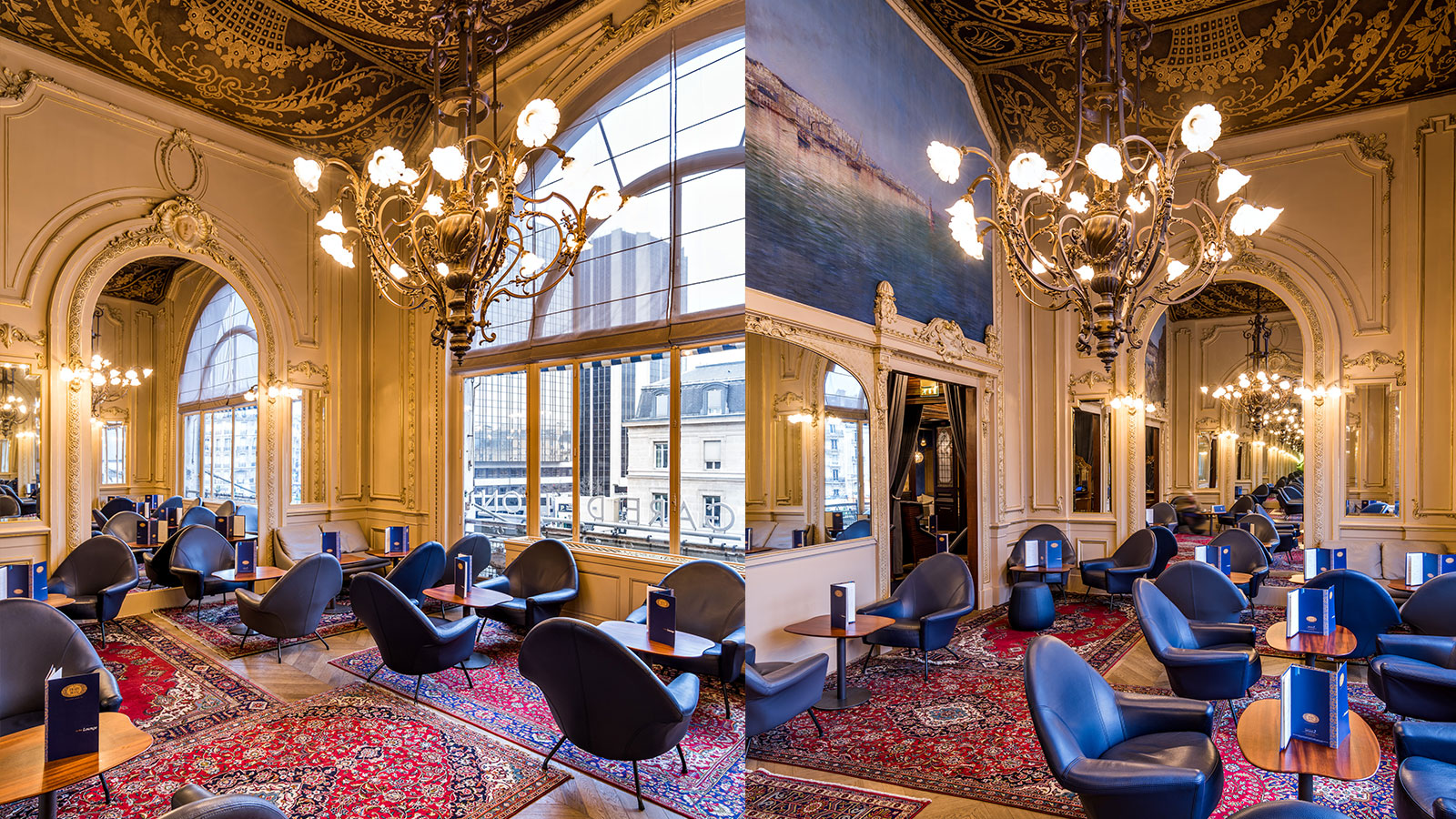 Le train bleu passport to old paris peacock plume for Le petit salon paris