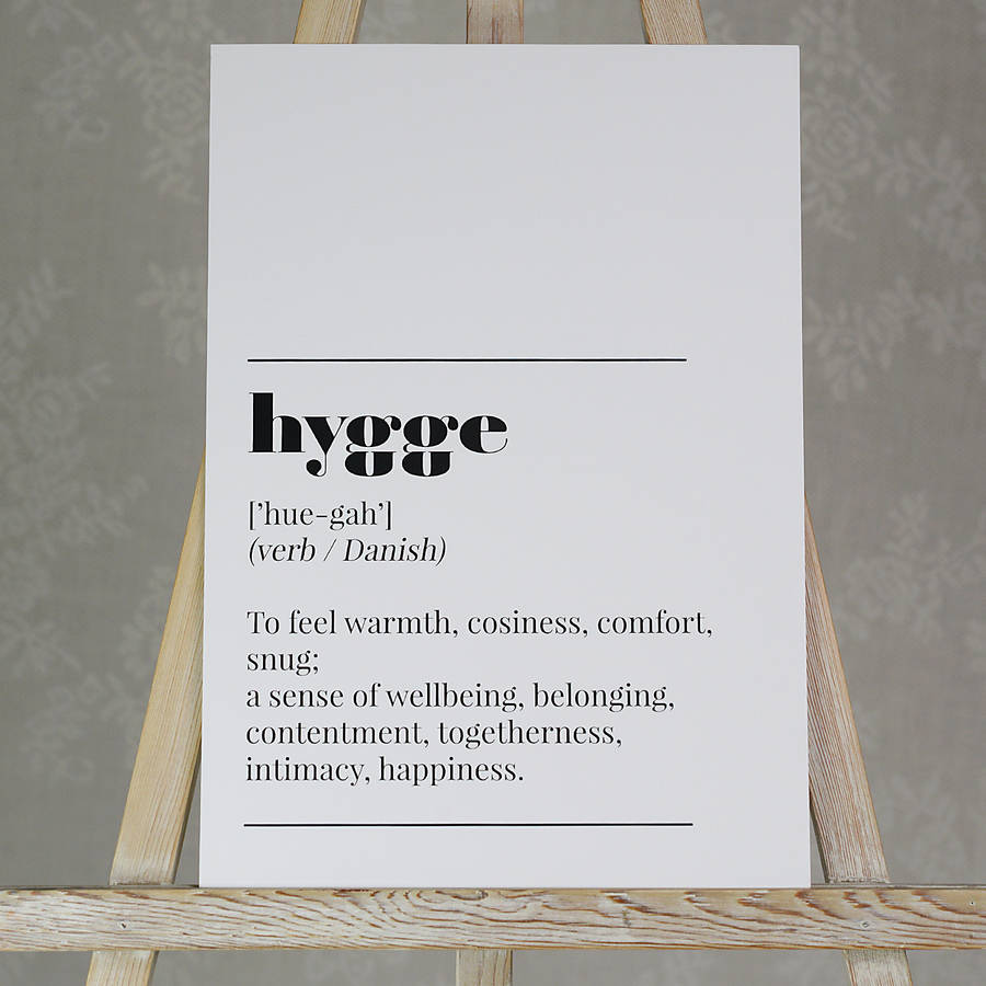 """Getting """"Hygge"""" With It"""