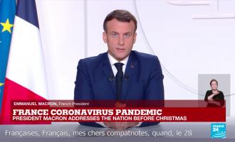 French President Emmanuel Macron. Image Credit: France 24