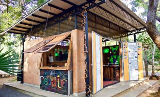 Upcycling Auroville Kiosk