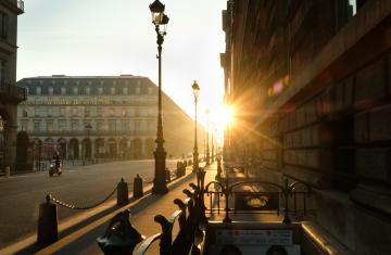 Daybreak in Paris