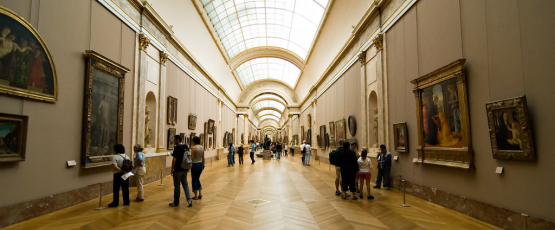 Inside the Louvre, one of Europe's most famous museums. Image Credit: Flickr/Richard Cassan
