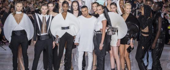 Balmain SS 2019, Paris Fashion Week. Image Credit:  Courtesy of Balmain