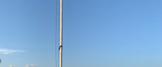 Ghanaian Flag at Kwame Nkrumah Memorial Park