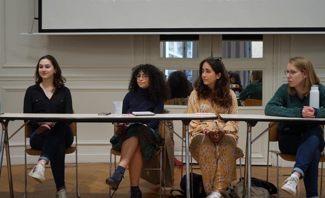 diversity panel of students Image Credits: Zakiyyah Job