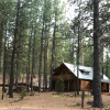 A Log Cabin typical to BBR