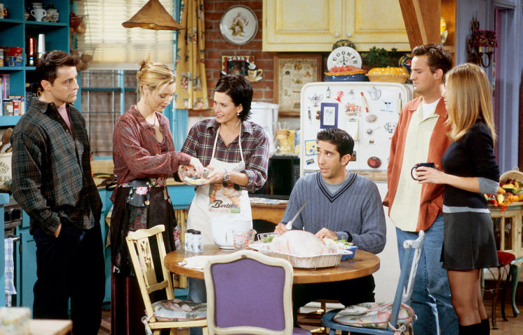 One of the several Friends Thanksgiving episodes. Image Credit: NBC