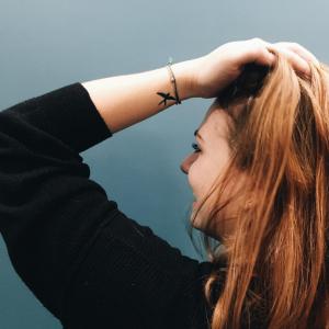 Leona Tattoo of Swallows