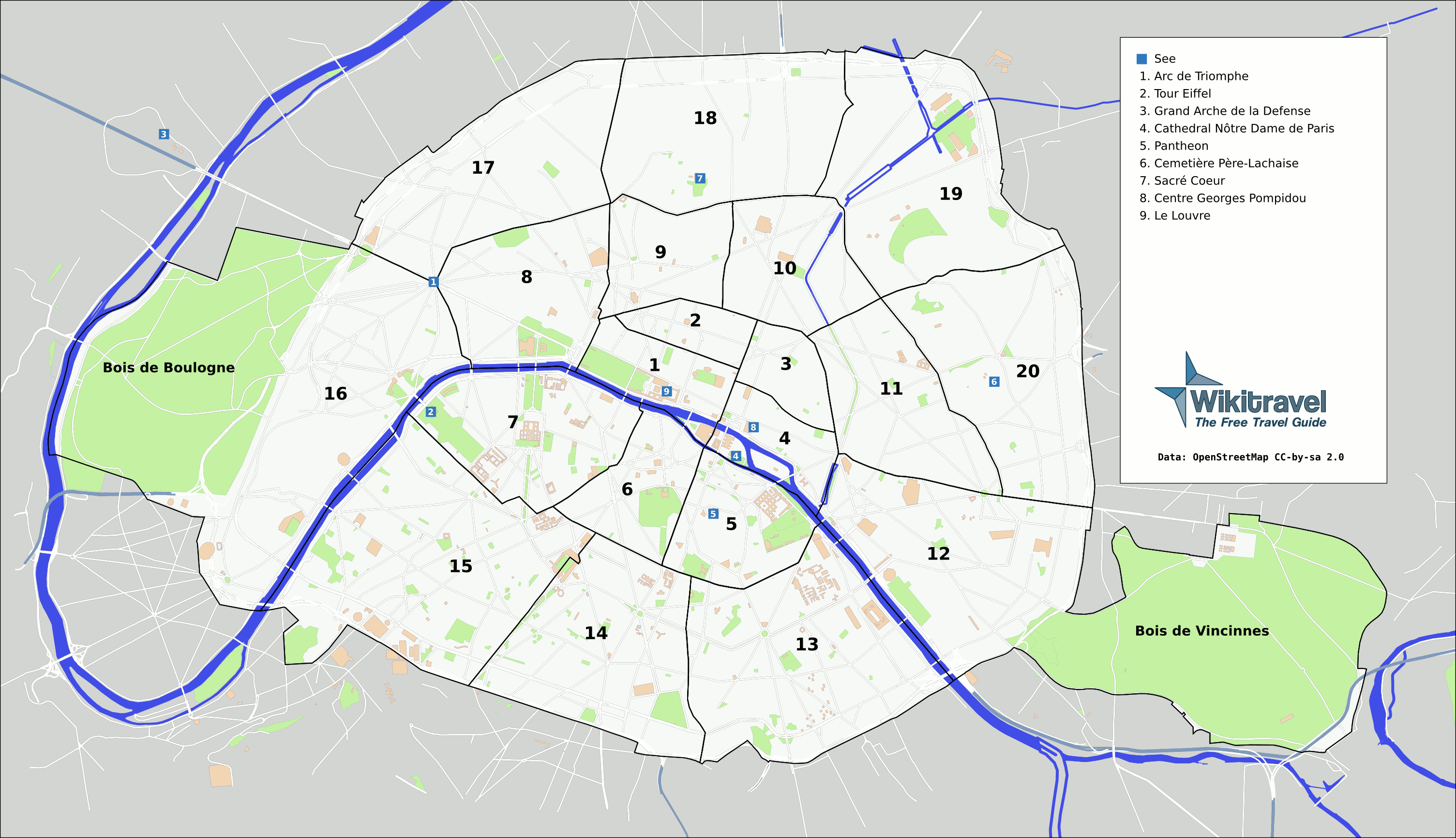 Paris Haritası